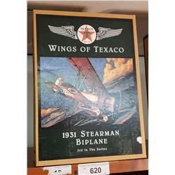 Texaco 1931 Stearman Biplane