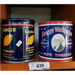 George Washington Tins