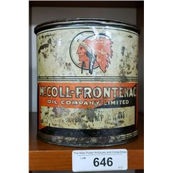 Red Indian 5 Pound Tin,