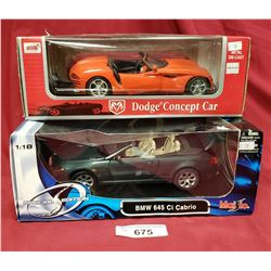 Dodge And Bmw Diecast