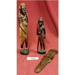3 African Carvings