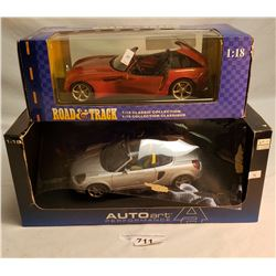 Toyota Mr2 And Dodge Concept Diecast