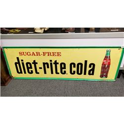 Diet Cola Sign Vintage