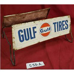 Gulf Tire Stand Vintage