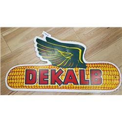 Vintage Dekalb Farm Sign