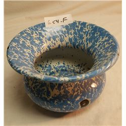 Blue Vintage Spittoon
