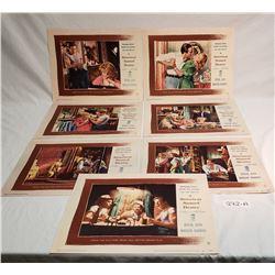 Set Of 8 Vintage Lobby Cards