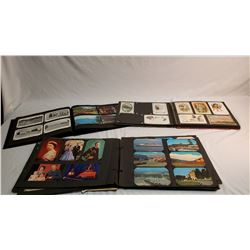 3 Photo Albums of Post Cards