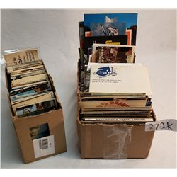 2 Boxes of Assorted Post Cards