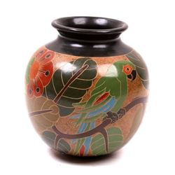 Temperate Rain Forest Amazonian Theme Pot