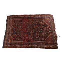 Persian Mashad Hand Woven Rug
