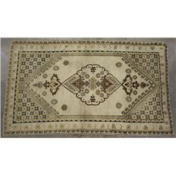 Persian Tabriz Style Hand Woven Wool Rug