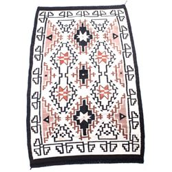 Navajo Pre-Banded Chinle Hand Woven Wool Rug