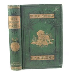 Life & Explorations of Dr. Livingstone c. 1874