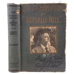 Life & Adventures of Buffalo Bill 1917 1st Edition