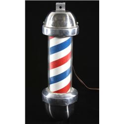 William Marvy Model 410 Wall Mount Barbershop Pole