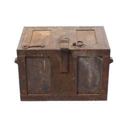 Herring & Co. New York Railroad Strong Box c. 1890
