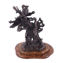 Blackfoot Dancer Gary Schildt Bronze Sculpture