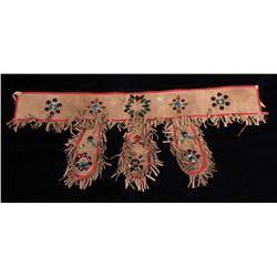 Wild West Show Jeweled Belt circa 1900