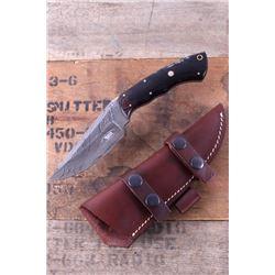 Montana Territory Knives Damascus Buffalo Knife