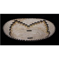 1960's Hand Woven Papago Indian Basket