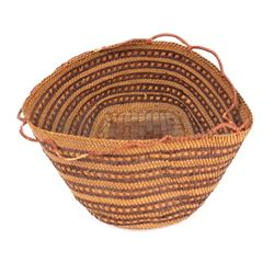 Northwest Coast Native American Basket Circa 1880
