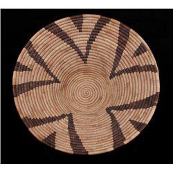 1950's Hopi Native American Hand Woven Basket