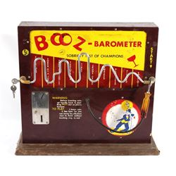 1950's Booz-Barometer 5 Cent Machine