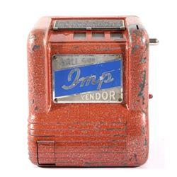 1940s IMP Trade Simulator Gum Ball Vending Machine