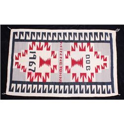 Minnetonka Hand Woven Wool Blanket c. 1967
