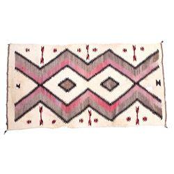 Navajo Native American Ganado Hand Woven Rug