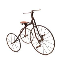 Early American Iron Tricycle circa 1890
