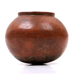 Pre-Colombian Indian Pottery Vessel
