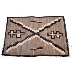 Navajo Ganado Hubbell Trading Post Rug c. 1900