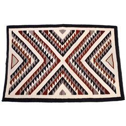 Navajo Ganado Pattern Hubbell Trading Post Rug