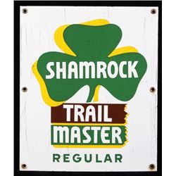Shamrock Trail Master Gasoline Advertising Sign