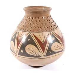 Acoma Polychrome Pottery Jar