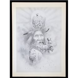 Tony Sandoval Signed Print 'Spirit of the West'