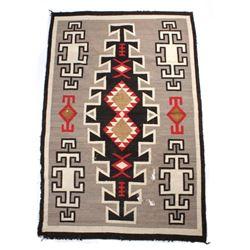 Navajo Klagetoh Hand Woven Wool Rug c. 1900