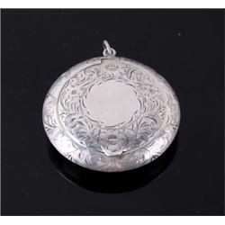 Victorian Era Fine Sterling Silver Snuff Box