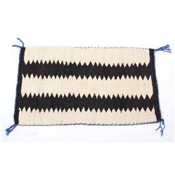 Navajo Native American Small Wool Pattern Rug