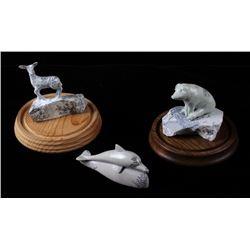 Talc Carving Animal Figurines