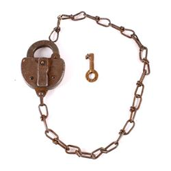 1957 Erie Railroad Switch Lock & Key