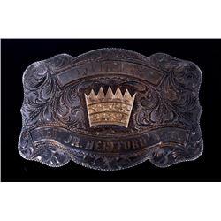Nev. Jr. Hereford Assn. Silver Queen Buckle