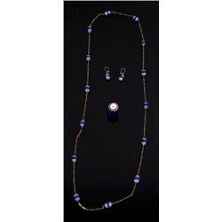 Venetian Chevron Trade Glass Bead Jewelry