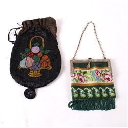 Antique Ladies Beaded Purses