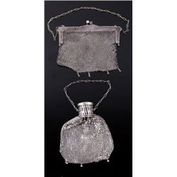 German Silver Purse and Silver Coin Purse