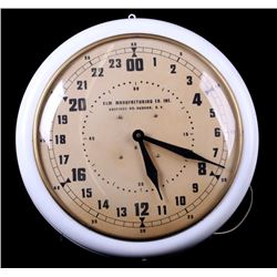 24 Hour Elm Manufacturing Company Inc. Clock