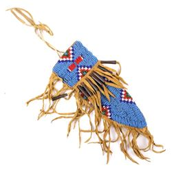 Sioux Beaded Knife Sheath Early 1900s