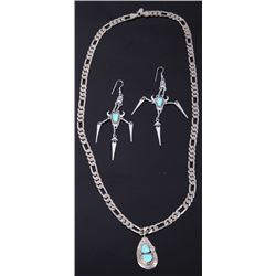 Navajo Native American Sterling Silver Jewelry